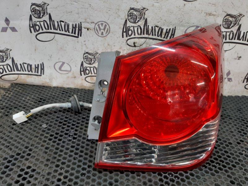 Фонарь Chevrolet Cruze СЕДАН F16D3 2010 задний правый (б/у)