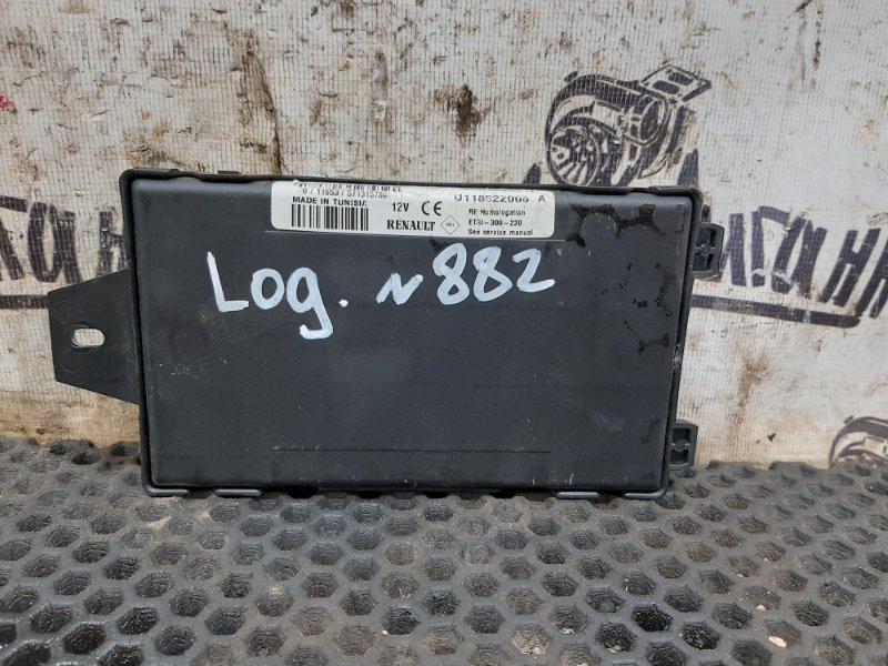 Блок комфорта Renault Logan K7JA710 2008 (б/у)