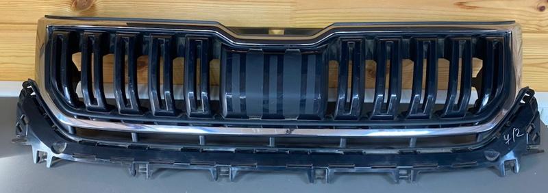 Решетка радиатора Skoda Kodiaq передняя (б/у)