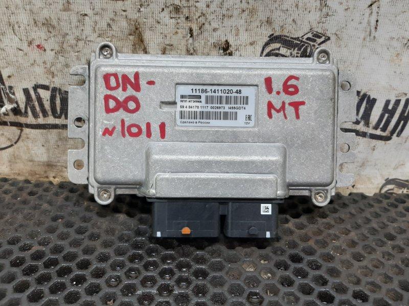 Блок управления двигателем Datsun On-Do 11186 2017 (б/у)