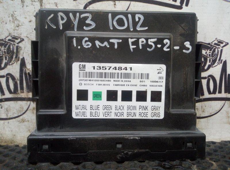 Блок комфорта Chevrolet Cruze СЕДАН F16D3 2010 (б/у)
