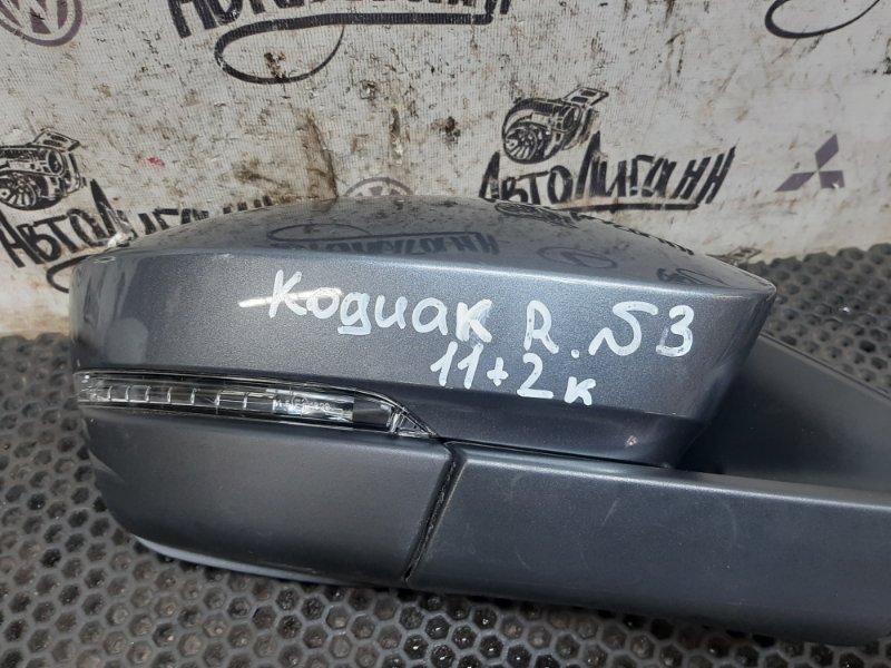 Зеркало Skoda Kodiaq переднее правое (б/у)
