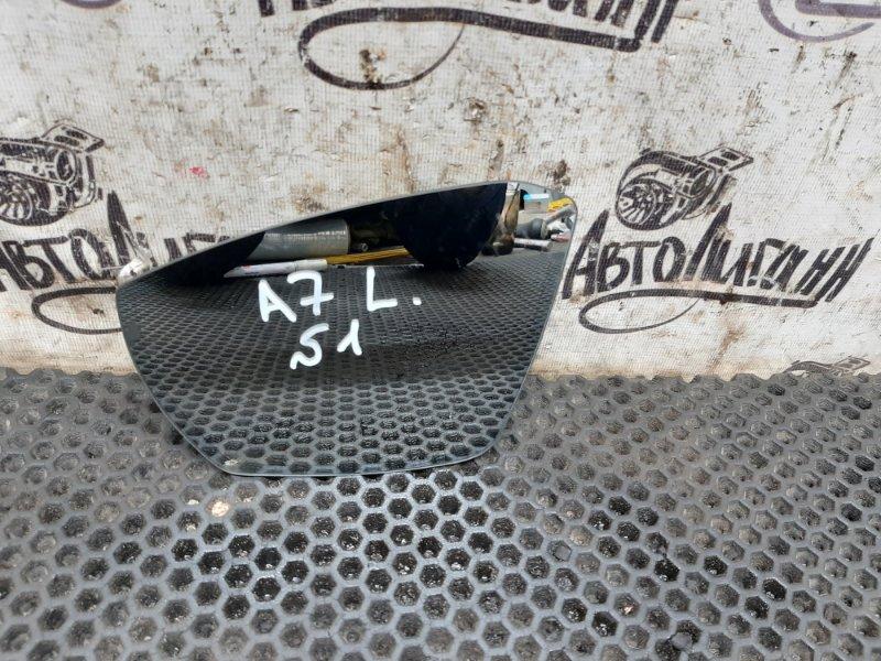 Зеркальный элемент Skoda Octavia A7 передний левый (б/у)