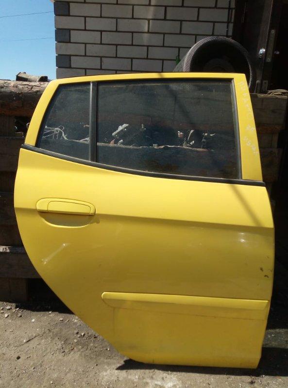 Дверь Kia Picanto ХЕТЧБЕК 2004 задняя правая (б/у)