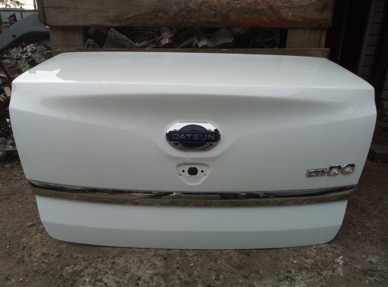 Крышка багажника Datsun On-Do 11186 2017 (б/у)
