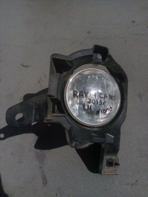 Фара противотуманная Toyota Rav 4 Ca 40 2013 передняя левая (б/у)