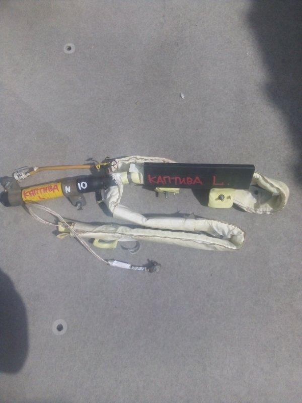 Шторка безопасности Chevrolet Captiva 2008 левая (б/у)
