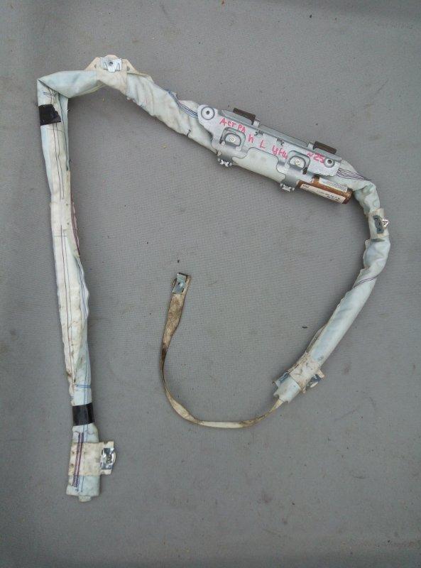 Шторка безопасности Opel Astra H УНИВЕРСАЛ левая (б/у)