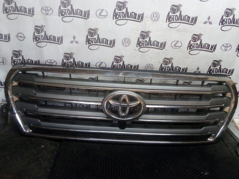 Решетка радиатора Toyota Land Cruiser 200 передняя (б/у)