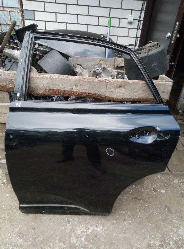 Дверь Lexus Rx 2012 задняя левая (б/у)