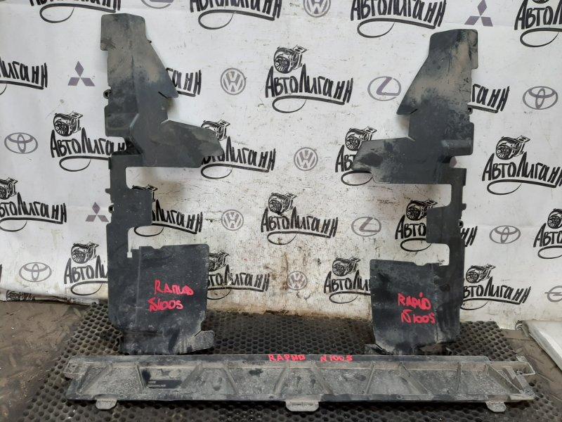 Дефлектор радиатора Skoda Rapid CWV 2018 (б/у)
