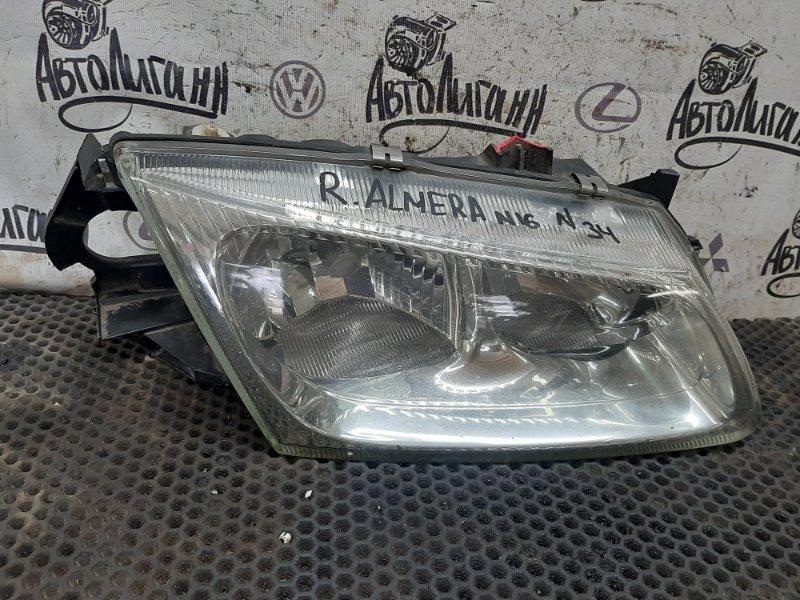 Фара Nissan Almera N16 передняя правая (б/у)