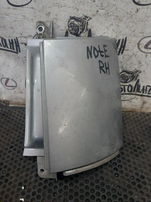 Накладка под фару Nissan Note задняя правая (б/у)
