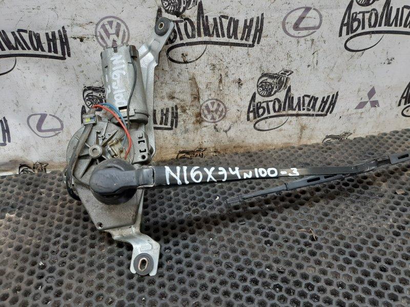 Мотор дворников Nissan Almera N16 задний (б/у)