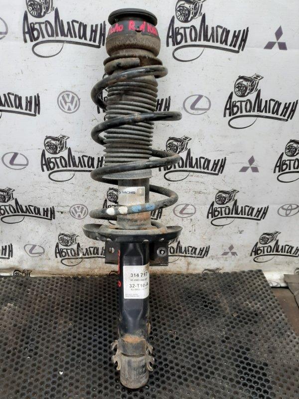 Амортизатор в сборе Volkswagen Polo СЕДАН CFN 2013 передний правый (б/у)