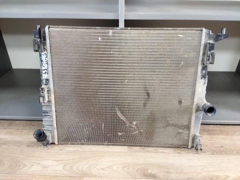 Радиатор охлаждения Nissan Almera G15 1.6 2014 (б/у)