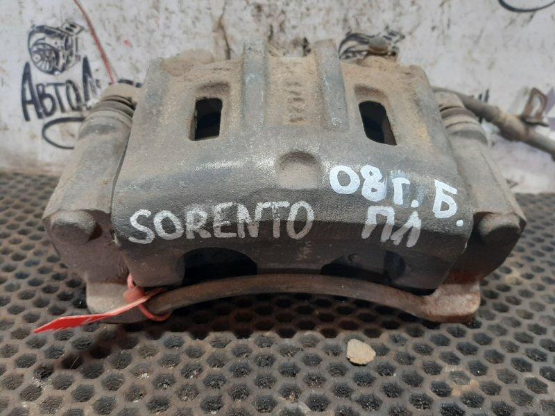 Суппорт Kia Sorento 2008 передний левый (б/у)