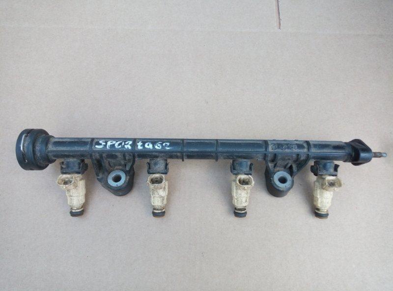 Топливная рампа Kia Sportage 2 (б/у)
