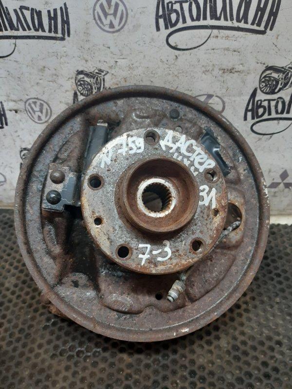 Кулак (цапфа) Renault Duster K4MA606 2013 задний левый (б/у)