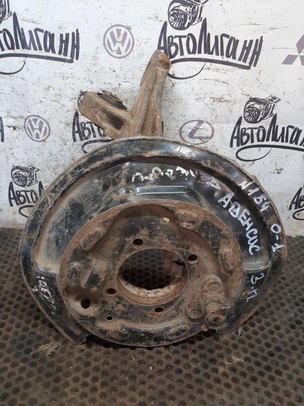 Кулак (цапфа) Toyota Avensis 2008 задний правый (б/у)
