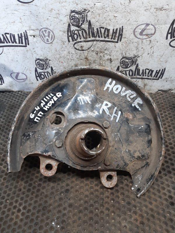 Кулак (цапфа) Great Wall Hover H5 2012 передний правый (б/у)