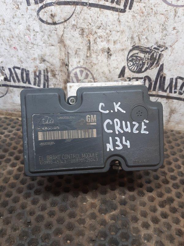 Блок abs Chevrolet Cruze 2012 (б/у)