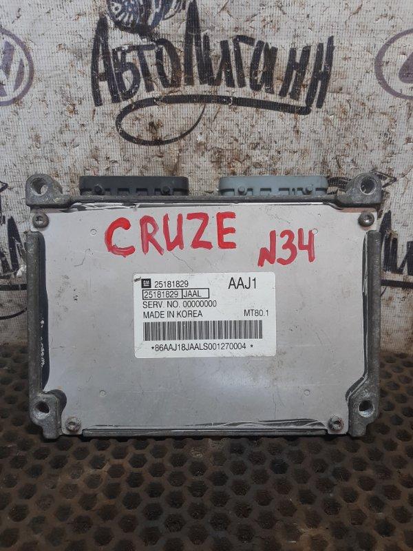 Блок управления двигателем Chevrolet Cruze 1.6 2010 (б/у)