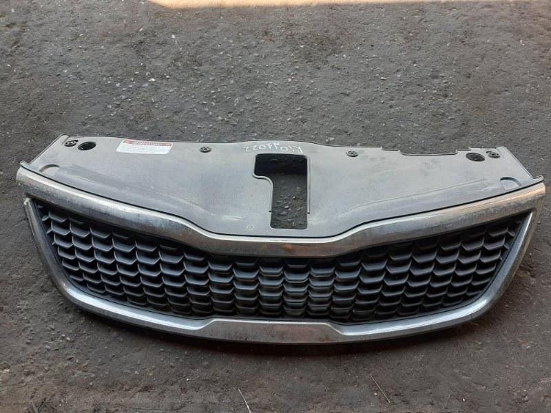 Решетка радиатора Kia Rio СЕДАН G4FC 2015 передняя (б/у)