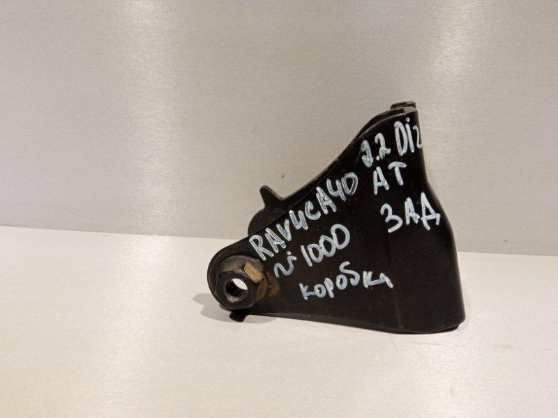Кронштейн кпп Toyota Rav 4 Ca 40 2ADFHV 2013 задний (б/у)