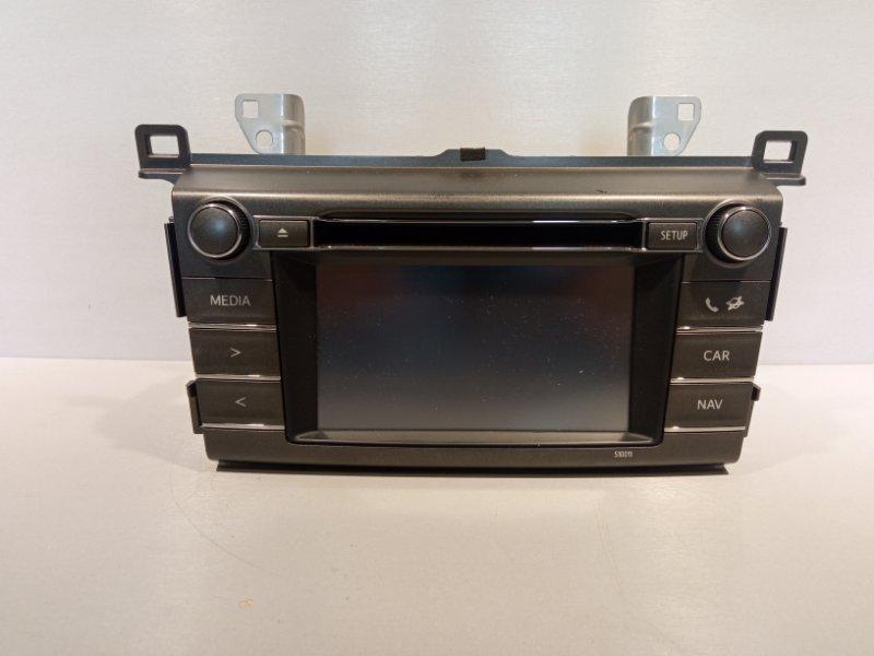 Магнитола Toyota Rav 4 Ca 40 2ADFHV 2013 (б/у)