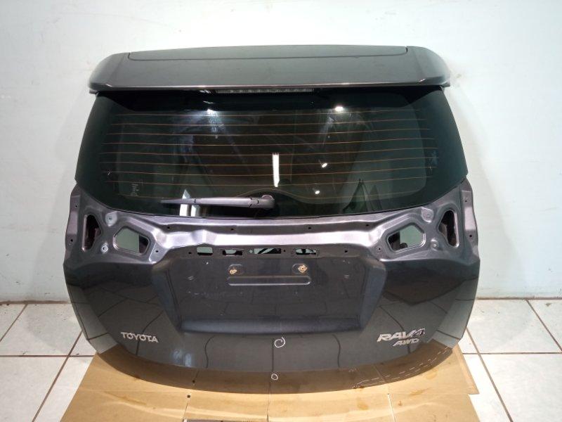 Крышка багажника Toyota Rav 4 Ca 40 2ADFHV 2013 задняя (б/у)