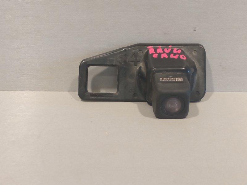 Камера заднего вида Toyota Rav 4 Ca 40 2ADFHV 2013 задняя (б/у)