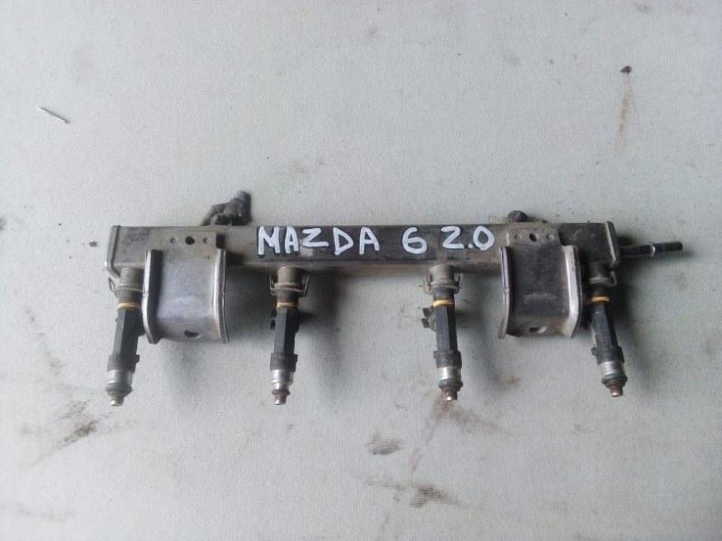 Топливная рампа Mazda 6 Gh 2.0 2010 (б/у)