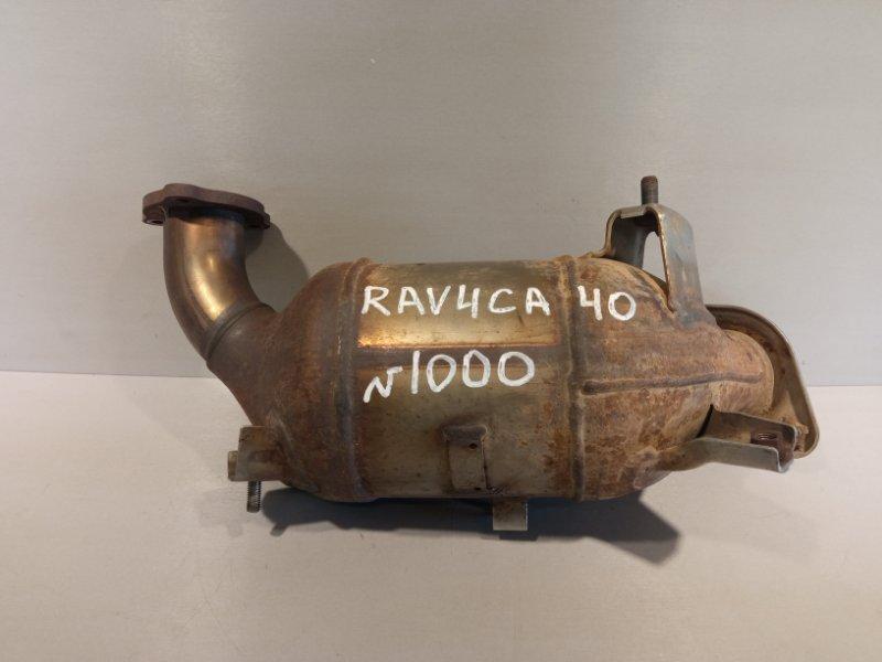 Катализатор (выпускной коллектор) Toyota Rav 4 Ca 40 2ADFHV 2013 (б/у)