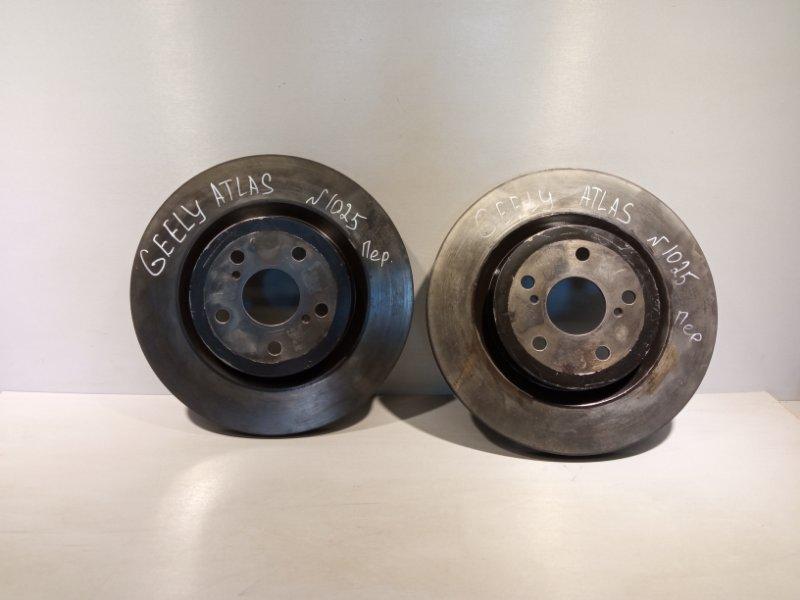 Тормозной диск Geely Atlas JLD-4G24 2020 передний (б/у)