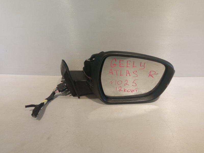 Зеркало Geely Atlas JLD-4G24 2020 переднее правое (б/у)