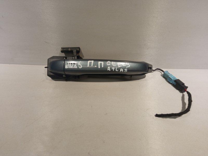 Ручка двери Geely Atlas JLD-4G24 2020 передняя правая (б/у)
