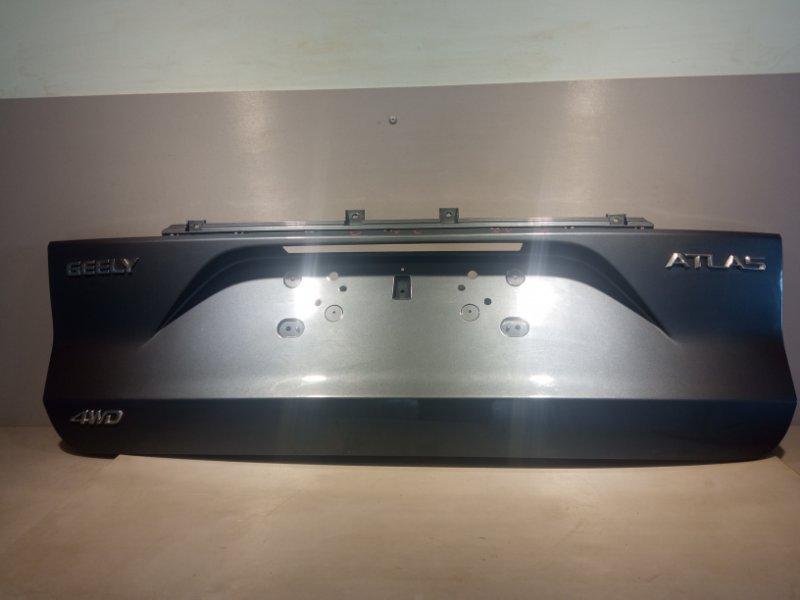 Накладка крышки багажника Geely Atlas JLD-4G24 2020 задняя (б/у)
