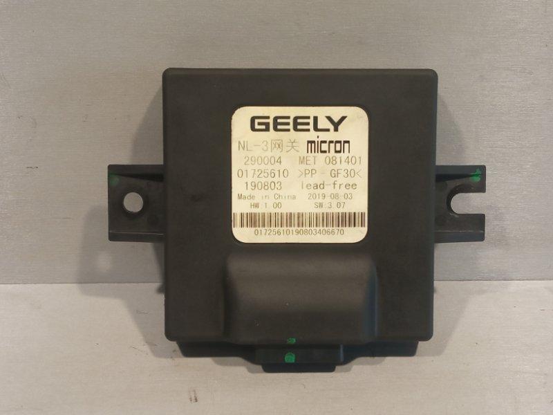 Блок электронный Geely Atlas JLD-4G24 2020 (б/у)