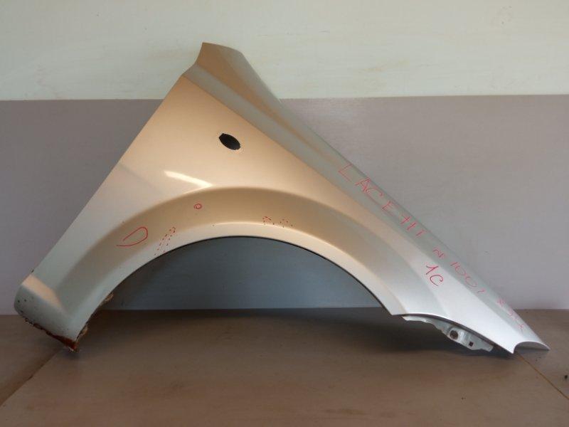 Крыло Chevrolet Lacetti ХЭТЧБЕК F14D3 2010 переднее правое (б/у)