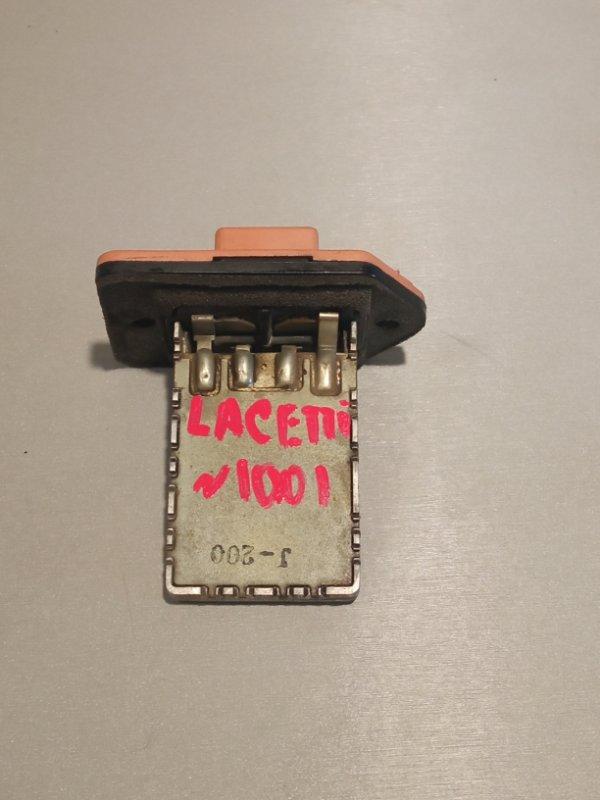 Резистор печки Chevrolet Lacetti ХЭТЧБЕК F14D3 2010 (б/у)