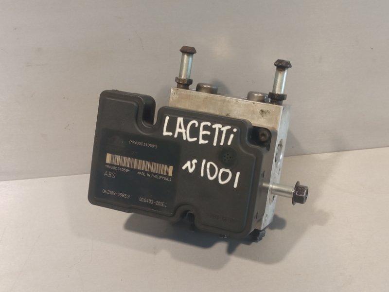 Блок abs Chevrolet Lacetti ХЭТЧБЕК F14D3 2010 (б/у)