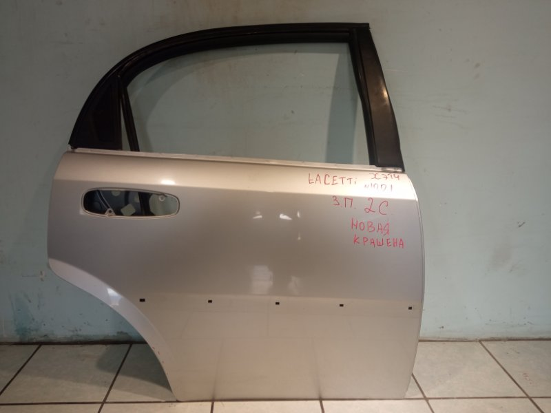 Дверь Chevrolet Lacetti ХЭТЧБЕК F14D3 2010 задняя правая (б/у)