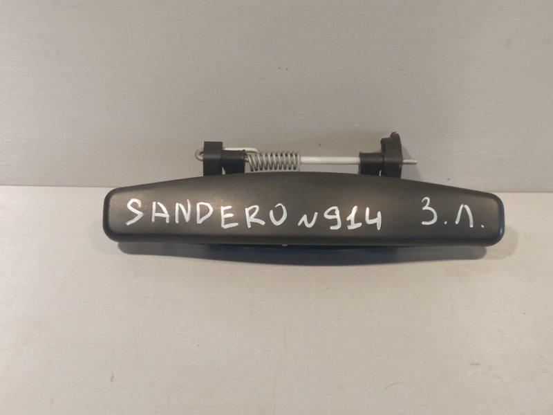 Ручка двери Renault Sandero K7JA710 2011 задняя левая (б/у)