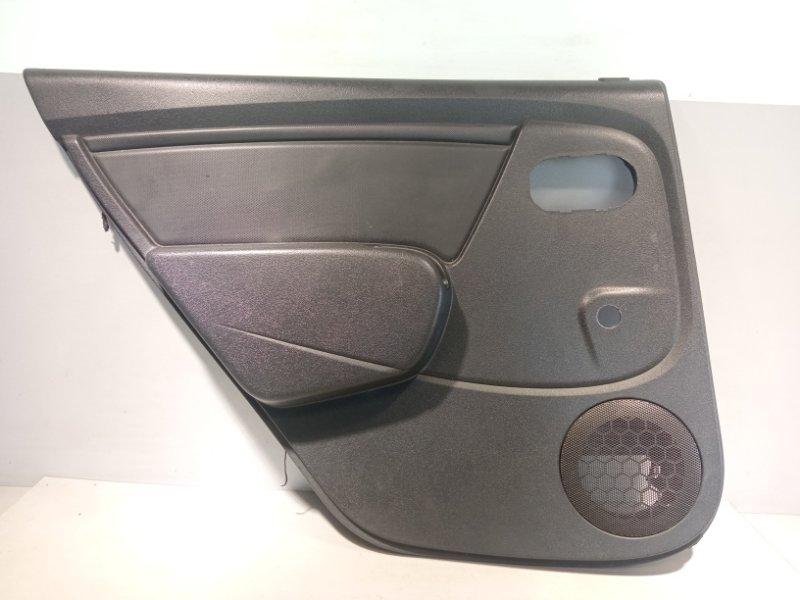 Обшивка двери Renault Sandero K7JA710 2011 задняя левая (б/у)