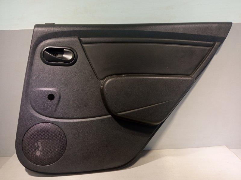 Обшивка двери Renault Sandero K7JA710 2011 задняя правая (б/у)