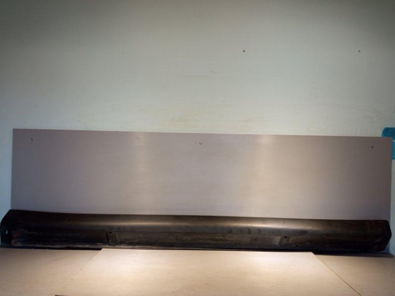 Накладка на порог Mitsubishi Outlander 3 4B11 2013 правая (б/у)