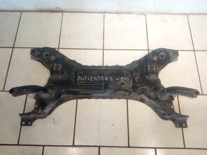 Подрамник Mitsubishi Outlander 3 4B11 2013 передний (б/у)