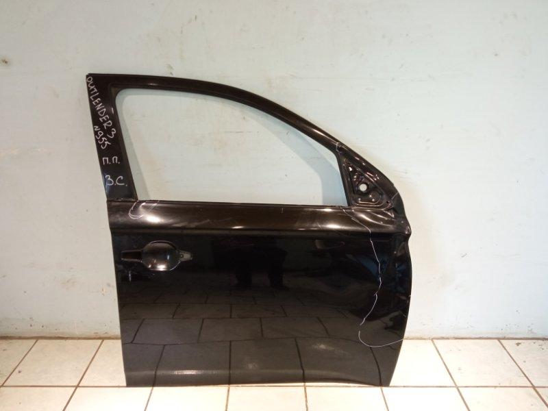 Дверь Mitsubishi Outlander 3 4B11 2013 передняя правая (б/у)