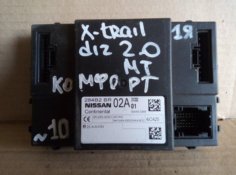 Блок комфорта Nissan X-Trail 2.0 (б/у)